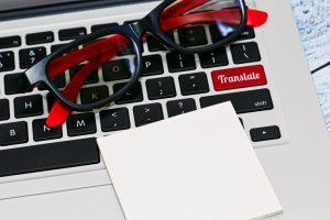 glasögon språkgranskning